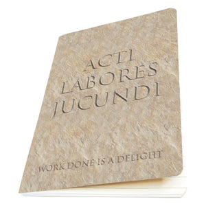 Acti Labores Jucundi (Work Done is a Delight) Exercise Book<br>(Pack of 10)