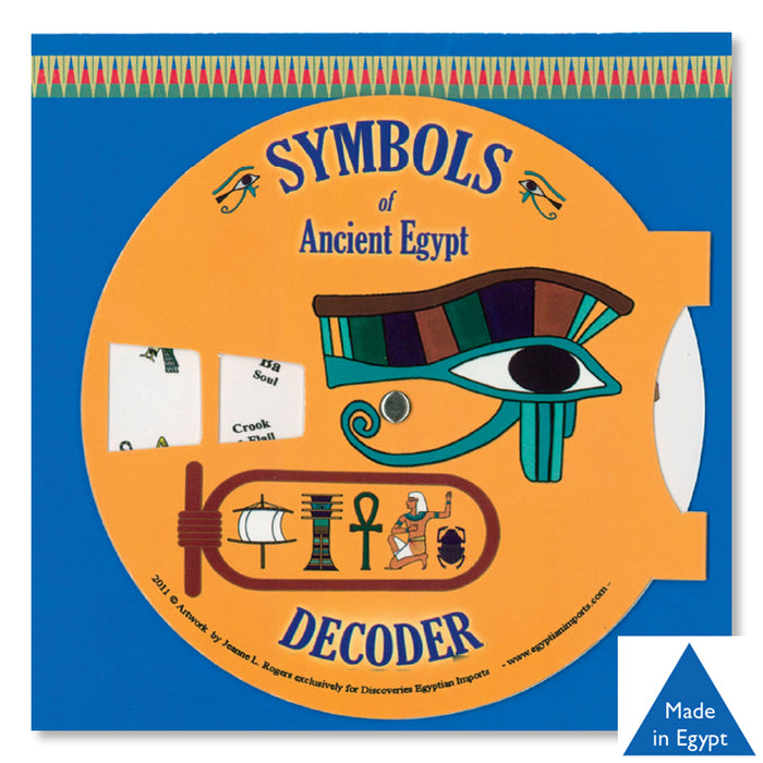 Amulets & Symbols - Hieroglyphic Decoders<br>(Pack of 10)