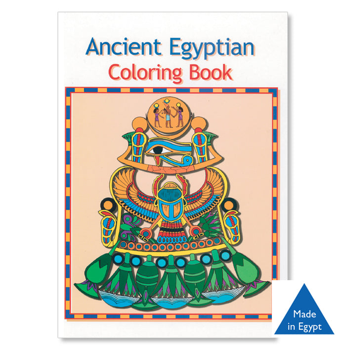 Ancient Egyptian - Colouring Book<br>(Pack of 5)