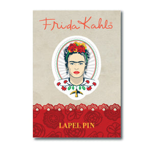 Frida Kahlo Frida Head Lapel Pin<br>(Pack of 10)