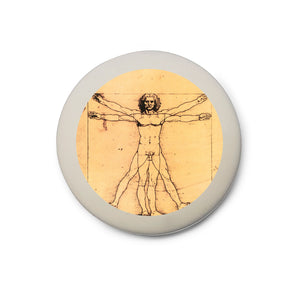Vitruvian Man Eraser<br>(Pack of 10)