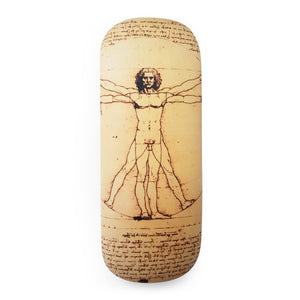Vitruvian Man Glasses Case and Lens Cloth<br>(Pack of 5)