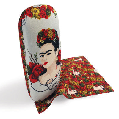 Frida Kahlo Thorns Glasses Case and Lens Cloth<br>(Pack of 5)