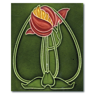 Art Nouveau Tile 24 Lens Cloth<br>(Pack of 10)