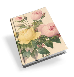 Yellow China Rose and Pink China Rose - Hardback Journal<br>(Pack of 5)