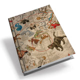 A Painted Image Hardback Journal<br>(Pack of 5)