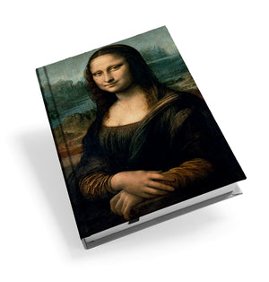 Mona Lisa Hardback Journal<br>(Pack of 5)