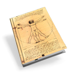 Vitruvian Man Hardback Journal<br>(Pack of 5)