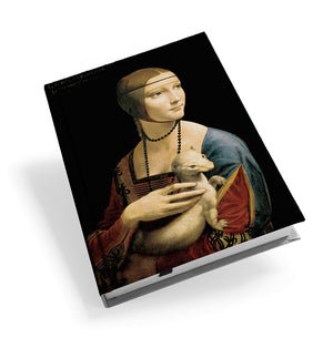 Lady with an Ermine Hardback Journal<br>(Pack of 5)