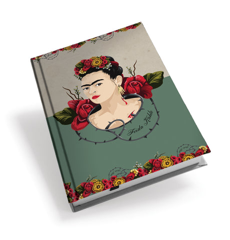 Frida Kahlo Thorns Hardback Journal<br>(Pack of 5)