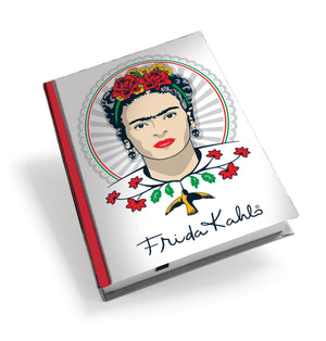Frida Kahlo Frida Head Hardback Journal<br>(Pack of 5)