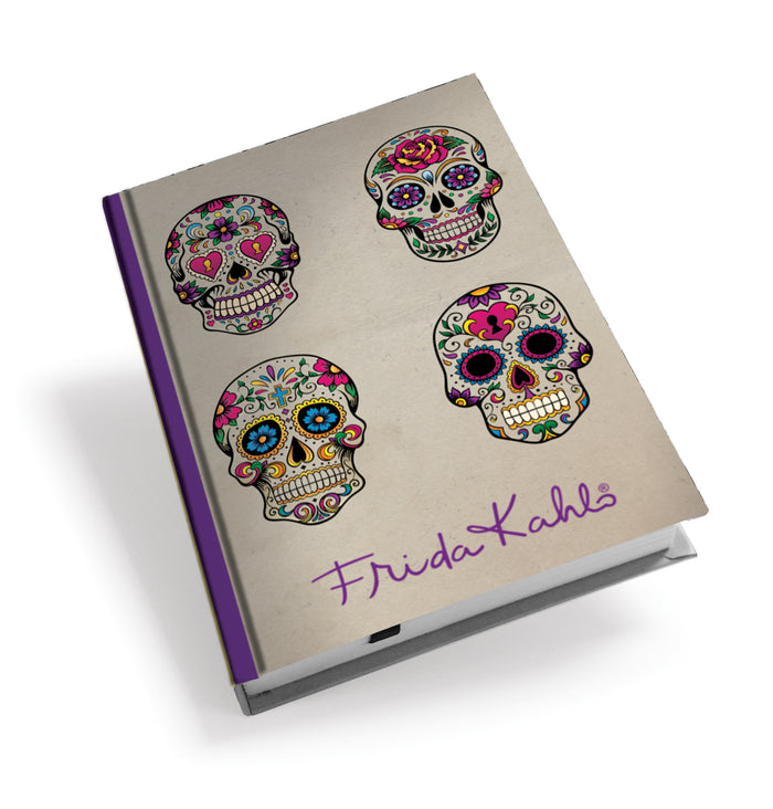 Frida Kahlo Skulls Hardback Journal<br>(Pack of 5)