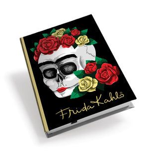 Frida Kahlo Floral Skull Hardback Journal<br>(Pack of 5)