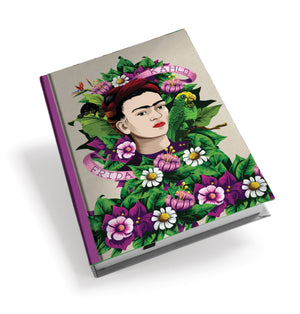 Frida Kahlo Frida Flowers Hardback Journal<br>(Pack of 5)