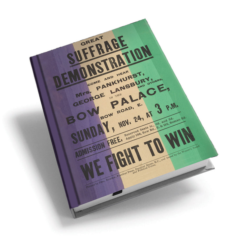Great Suffrage Demonstration Hardback Journal<br>(Pack of 5)