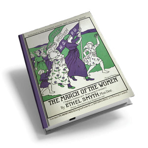 The March of the Women Hardback Journal<br>(Pack of 5)