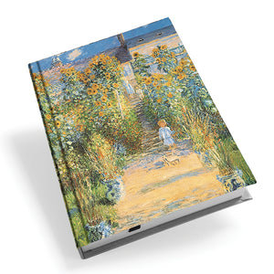 The Artist's Garden at Vetheuil Hardback Journal