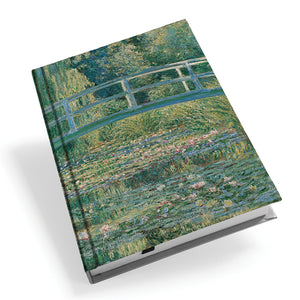 Waterlily Pond Hardback Journal<br>(Pack of 5)