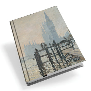 The Thames Below Westminster Hardback Journal<br>(Pack of 5)