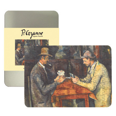 The Card Players 100-piece Jigsaw Puzzle<br>(Pack of 5)