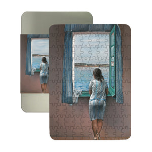 Girl at the Window, 1925 100-piece Jigsaw Puzzle<br>(Pack of 5)