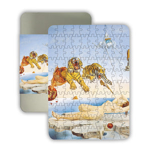 Dream caused by the Flight of a Bee... Before Awakening, 1944 100-piece Jigsaw Puzzle<br>(Pack of 5)