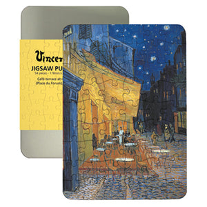 Cafe Terrace at Night 100-piece Jigsaw Puzzle<br>(Pack of 5)