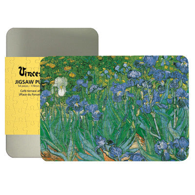 Les Iris 100-piece Jigsaw Puzzle<br>(Pack of 5)