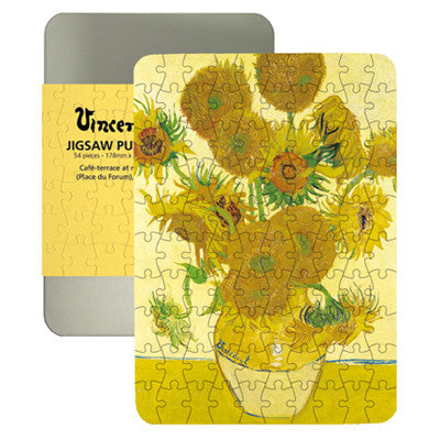 Sunflowers 100-piece Jigsaw Puzzle<br>(Pack of 5)