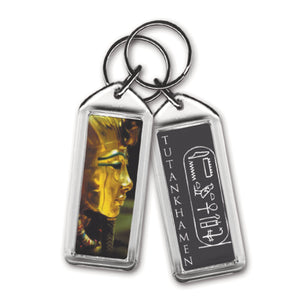Egyptian Tut Detail - Acrylic Keyring<br>(Pack of 10)