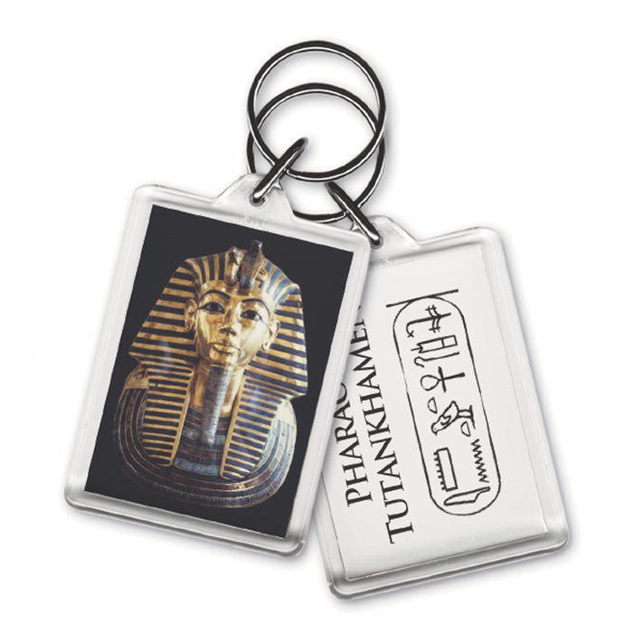 Egyptian Tut - Acrylic Keyring<br>(Pack of 10)