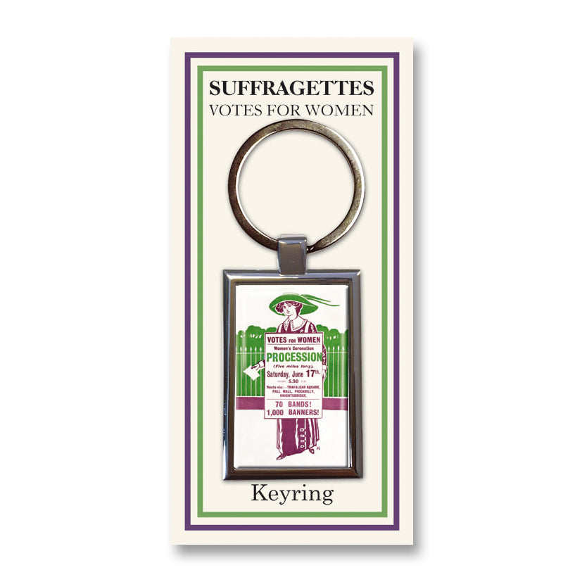 Women's Coronation Procession Keyring<br>(Pack of 10)