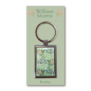 Larkspur Metal Keyring<br>(Pack of 10)