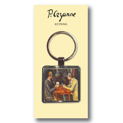 The Card Players Metal Keyring<br>(Pack of 10)