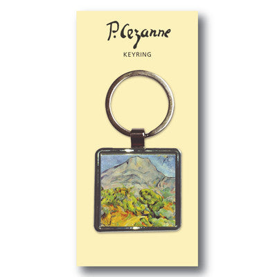 Mont Sainte-Victoire Metal Keyring<br>(Pack of 10)
