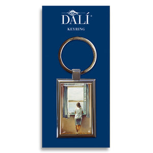 Girl at the Window, 1925 Metal Keyring<br>(Pack of 10)