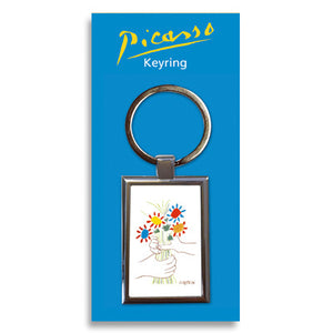 La Bouquet de l'amitiŽ Metal Keyring<br>(Pack of 10)