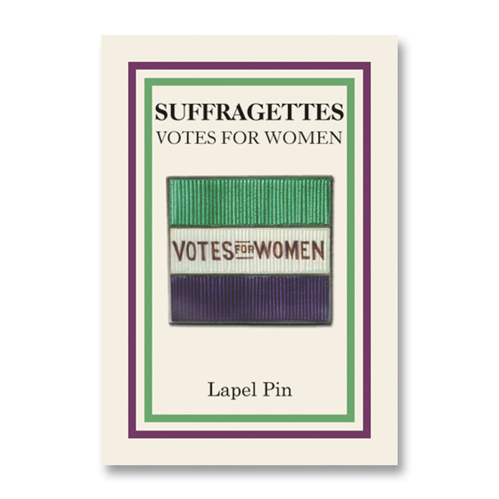 Votes for Women Flag Lapel Pin<br>(Pack of 10)