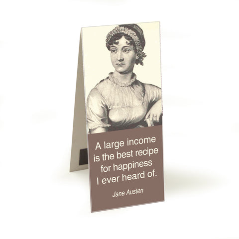 Austen - a large income  Magnetic Bookmark<br>(Pack of 10)
