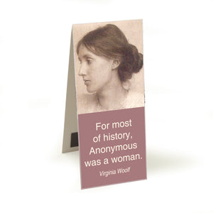 Woolf - anonymous woman  Magnetic Bookmark<br>(Pack of 10)