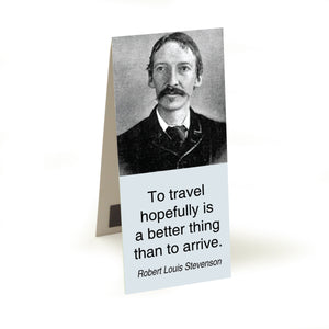 Stevenson - to travel hopefully  Magnetic Bookmark<br>(Pack of 20)