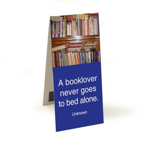 Anon - a booklover never goes  Magnetic Bookmark<br>(Pack of 10)