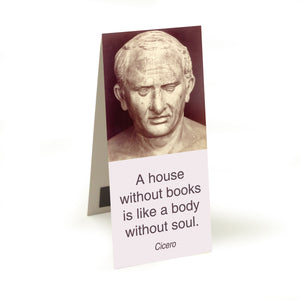 Cicero - a house without books  Magnetic Bookmark<br>(Pack of 10)