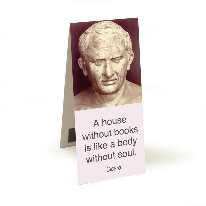 Cicero - a house without books  Magnetic Bookmark<br>(Pack of 20)