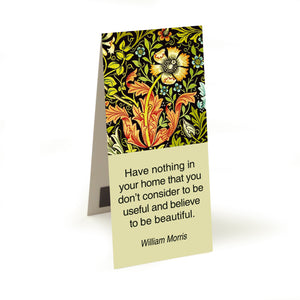 Morris - have nothing in your home  Magnetic Bookmark<br>(Pack of 20)
