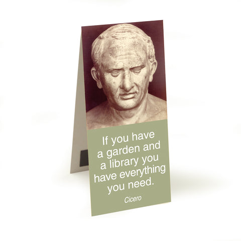 Cicero - if you have a garden  Magnetic Bookmark<br>(Pack of 10)