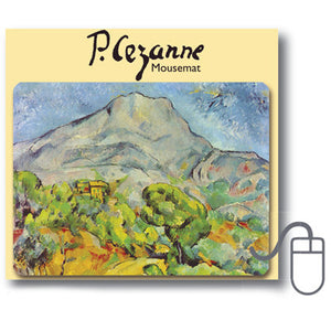 Mont Sainte-Victoire Mousemat<br>(Pack of 5)