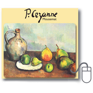 Still Life, Jug and Fruits Mousemat<br>(Pack of 5)