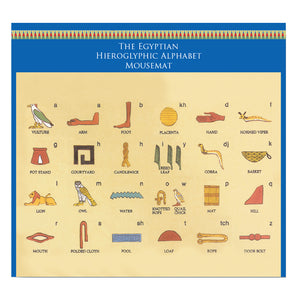 Egyptian Hieroglyphs Mousemat<br>(Pack of 5)