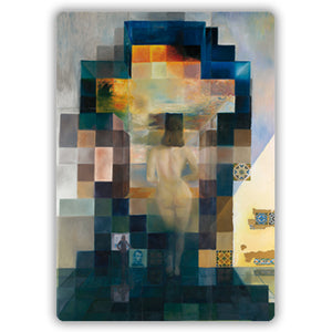 Gala Nude Looking at the sea... President Lincoln, 1975 Mini Mousemat<br>(Pack of 5)